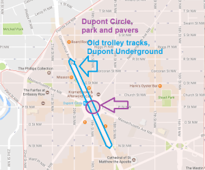 Dupont Circle and underground