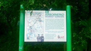 Informatiebord Airbornepad