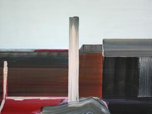 Marena Seeling: Zonder titel, Olie op linnen (2013) 120 x 100 cm