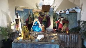 Kerststal van Wim van Woerkom in de Petris Canisiuskerk Nijmegen