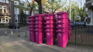 Nijmegen kleurt roze, dank zij de DAR, die al jaren geleden de goede kleur wist te vinden (Foto: Ad Lansink)