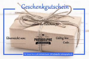 Geschenkgutschein fotoshooting adler photographie