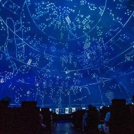 A still from the Adler Planetarium's sky show 'Cosmic Wonder.'