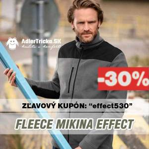MIKINA FLEECE effect