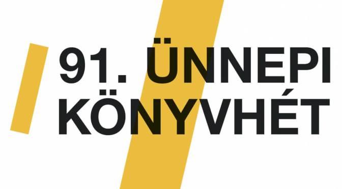 91.Ünnepi könyvhét logo