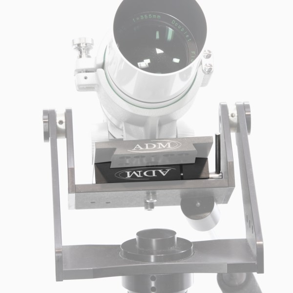 ADM Accessories | D Series | Miscellaneous | DPA-TV | DPA-TV- D Series Dovetail Adapter for TeleVue Mounts - Installed | Image 4