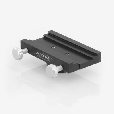 ADM Accessories | DV Series | Dovetail Saddle | DUAL-MTPRO | DUAL-MTPRO- DUAL Series Saddle. Fits iOptron MiniTower Pro Mounts | Image 1