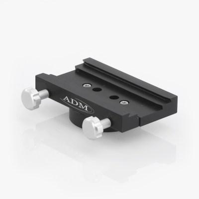 ADM Accessories   DV Series   Dovetail Saddle   DUAL-ZEQ   DUAL-ZEQ- DUAL Series Saddle. Fits iOptron ZEQ25/ZEQ25 GT Mounts   Image 1
