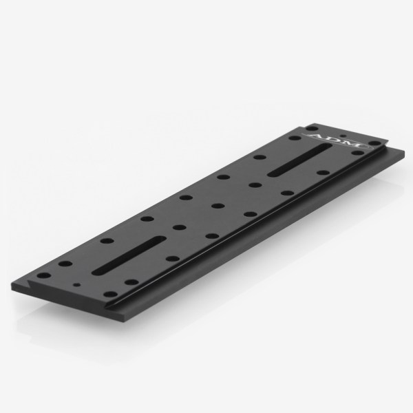 ADM Accessories   D Series   Universal Dovetail Bar   DUP15M   DUP15M- D Series Universal Dovetail Bar. 15″ Long, 60mm Spacing   Image 1