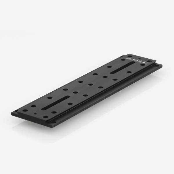 ADM Accessories | D Series | Universal Dovetail Bar | DUP15 | DUP15- D Series Universal Dovetail Bar. 15″ Long, 2″ Spacing | Image 1