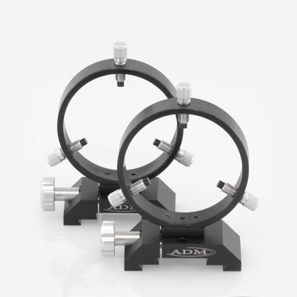 ADM Accessories | DV Series | Dovetail Ring | DVR100 | DVR100- D Series Ring Set. 100mm Adjustable Rings | Image 1