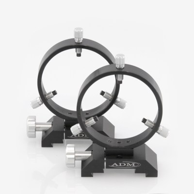 ADM Accessories | DV Series | Dovetail Ring | DVR100 | DVR100- D Series Ring Set. 100mm Adjustable Rings | Image 1
