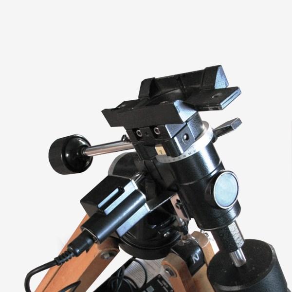 ADM Accessories | V Series | Dovetail Saddle | POLARIS | VSAD-PL- V Series Saddle. Fits Vixen Polaris Mounts | Image 1
