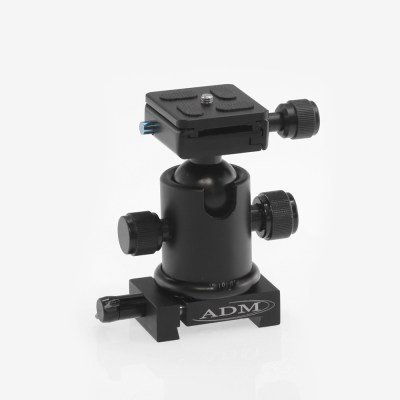 ADM Accessories | V Series | Dovetail Camera Mount | VBCM | VBCM- V Series Ballhead Camera Mount | Image 1