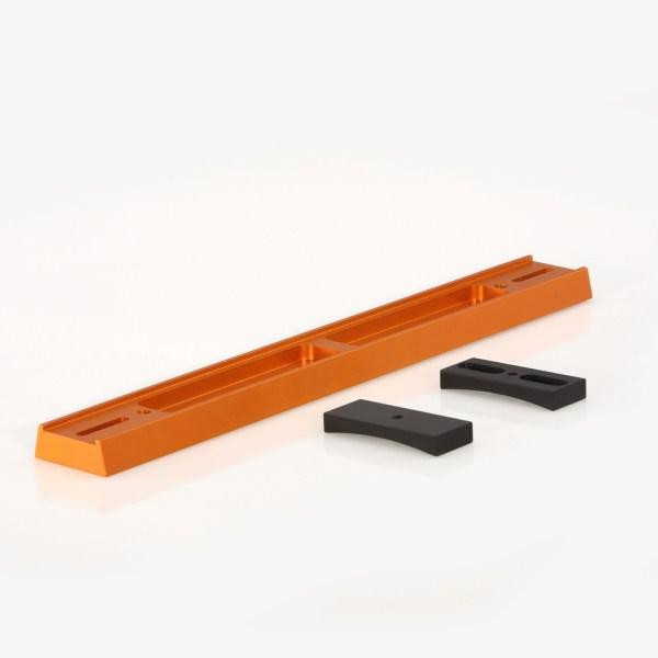 ADM Accessories | V Series | Dovetail Bar | VM8-O | VC8- V Series Dovetail Bar for Celestron 8″ SCT Telescope. Orange Anodized | Image 2