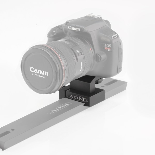 ADM Accessories   V Series   Dovetail Camera Mount   VCM   VCM- V Series Camera Mount - Installed   Image 2