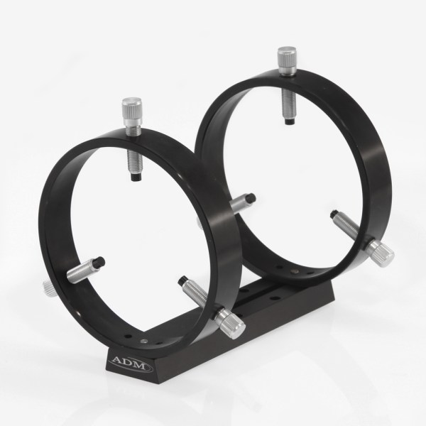 ADM Accessories   V Series   Dovetail Ring   VDUPR125   VDUPR125- V Series Universal Dovetail Ring Set. 125mm Adjustable Rings   Image 1
