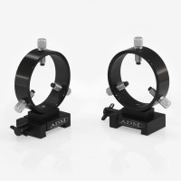 VR75- V Series Dovetail Ring Set.  75mm Adjustable Rings
