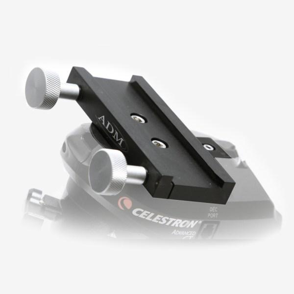 ADM Accessories | V Series | Dovetail Saddle | VSAD-CG5 | VSAD-CG5- V Series Saddle. Fits Celestron CG5 Mounts - Installed | Image 3