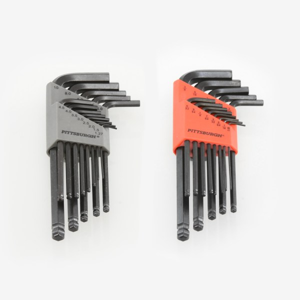 ADM Accessories | Miscellaneous | Tools | ALLEN-KIT | 26 Piece Allen Wrench Sets - SAE & METRIC | Image 1