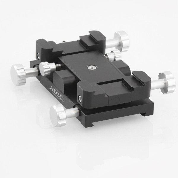 ADM Accessories | Miscellaneous | ALT/AZ Aiming Devices | MAX-F | Mini-MAX ALT/AZ Aiming Device. Female Saddle Version | Image 1