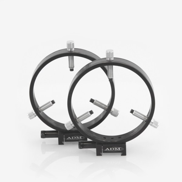 ADM Accessories | MDS Series | Dovetail Ring | MDS-R125 | MDS-R125- MDS Series dovetail Ring Set. 125mm Adjustable Rings | Image 1