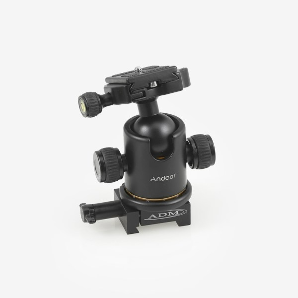 ADM Accessories   MDS Series   Dovetail Camera Mount   MDS-BCM   MDS-BCM- MDS Series Ballhead Camera Mount   Image 1