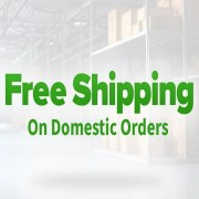 Announcement - FREE SHIPPING on All Domestic Orders