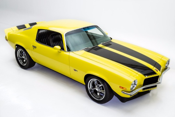 1972 Camaro Z28 Burnout