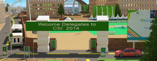 Entrance of CSI Project