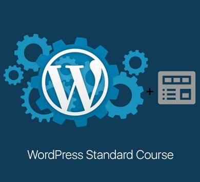 WordPress Standard Course