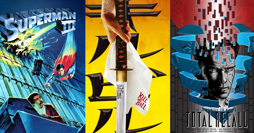 Mylar Style Movie Posters