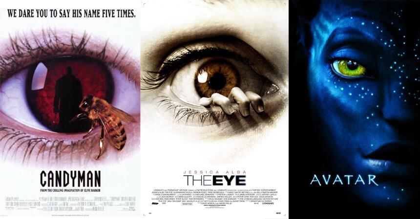 Big eye movie posters