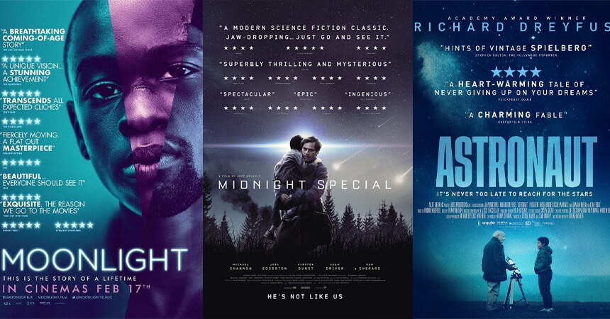 Review movie posters