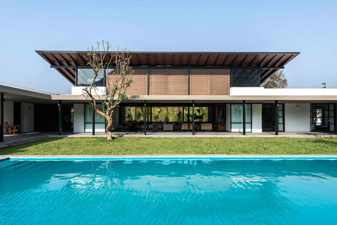 Top 10 Architects in India: Twin Houses in Alibag