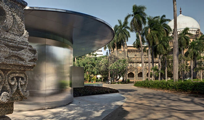 Top 10 Architects in India: Visitor Center at CSMVS in Mumbai