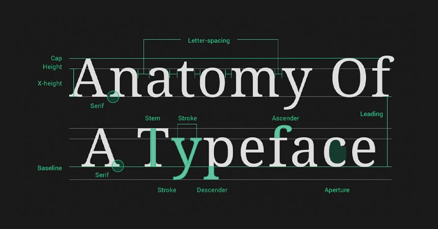 Common Graphic Design Terms: Typography