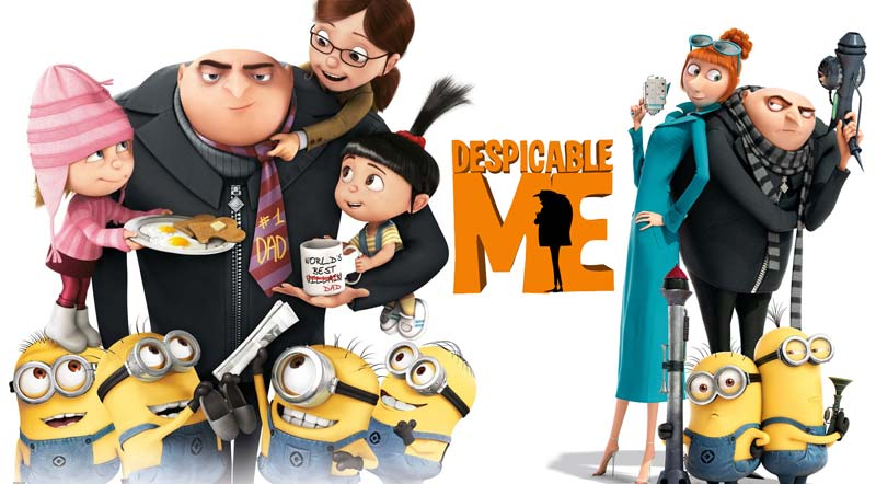 World's Popular 3D Animation Movies: Despicable Me