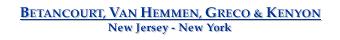 Betancourt, Van Hemmen, Greco & Kenyon - Admiralty Attorneys - New Jersey - New York