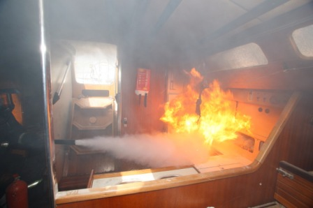 Boat Fire Extinguisher Tips From The YDSA Admiral Marine