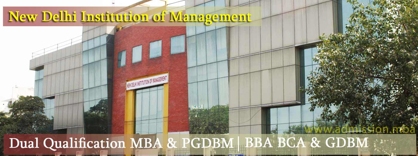 New Delhi Institution Management MBA-&-PGDBM