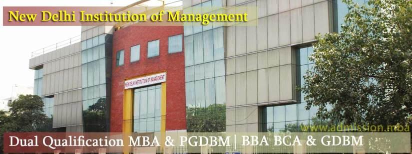 NDIM Delhi Admission 2020