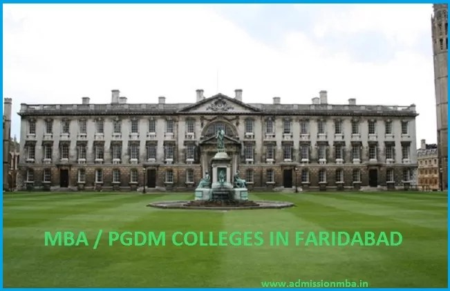 Top MBA Colleges Faridabad