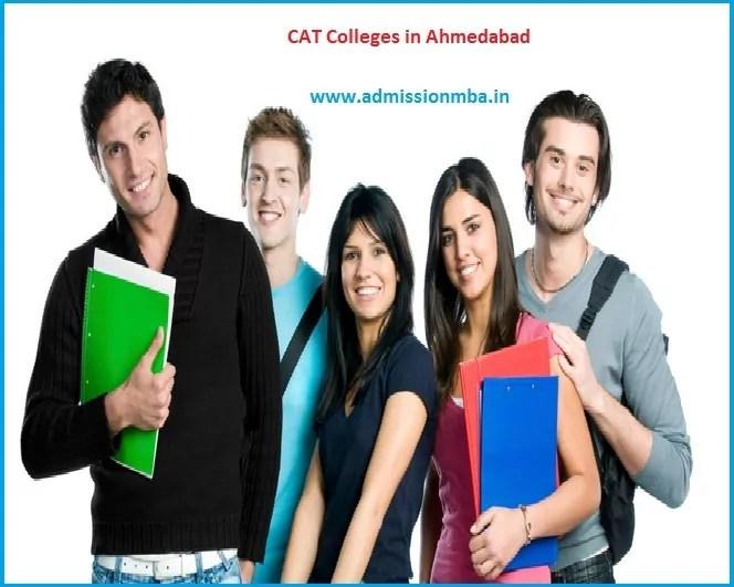 Accepting CAT score Ahmedabad