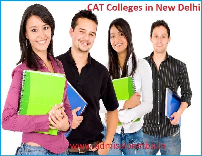 MBA Colleges Accepting CAT score in New Delhi