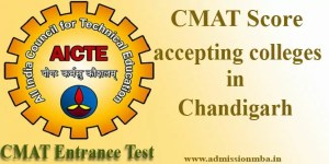 CMAT Score accepting colleges in Chandigarh