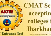 CMAT Score accepting colleges in Jharkhand