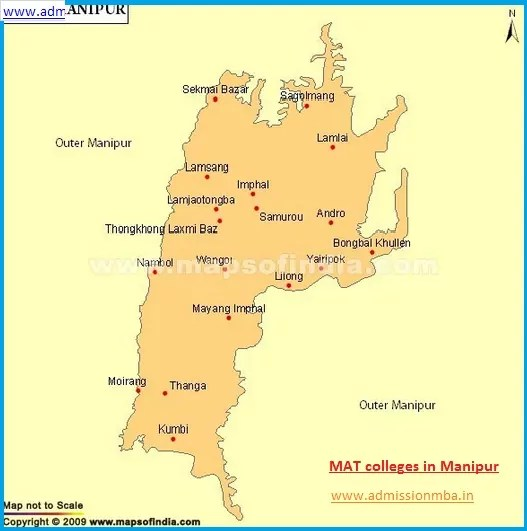 MBA Colleges Accepting MAT score in Manipur