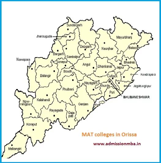 MBA Colleges Accepting MAT score in Orissa