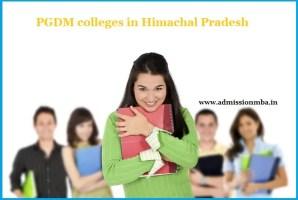 PGDM Colleges Himachal Pradesh